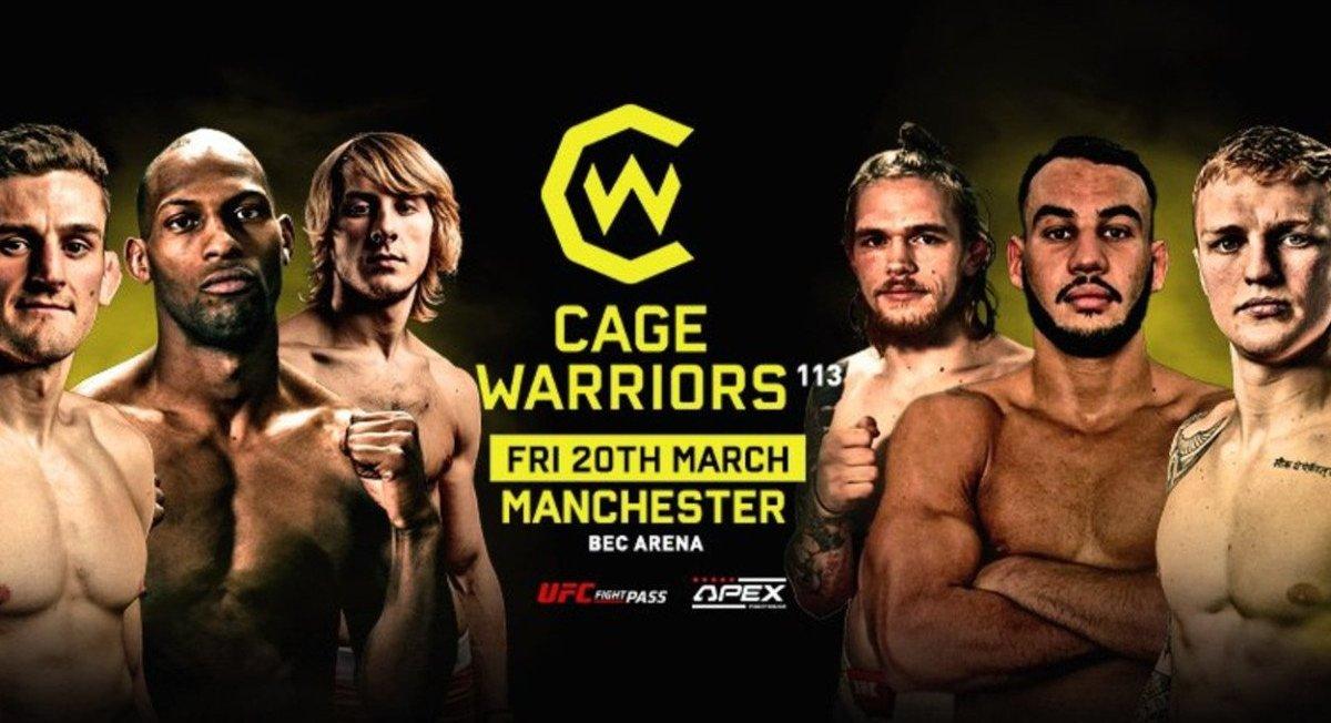 Cagewarriors 113