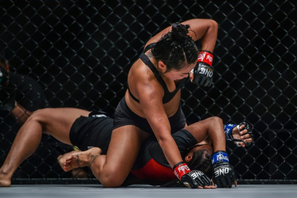 """""""Killer Bee"""" Bi Nguyen reveals her top 3 MMA TKO and submission finishes on TKO Countdown"""