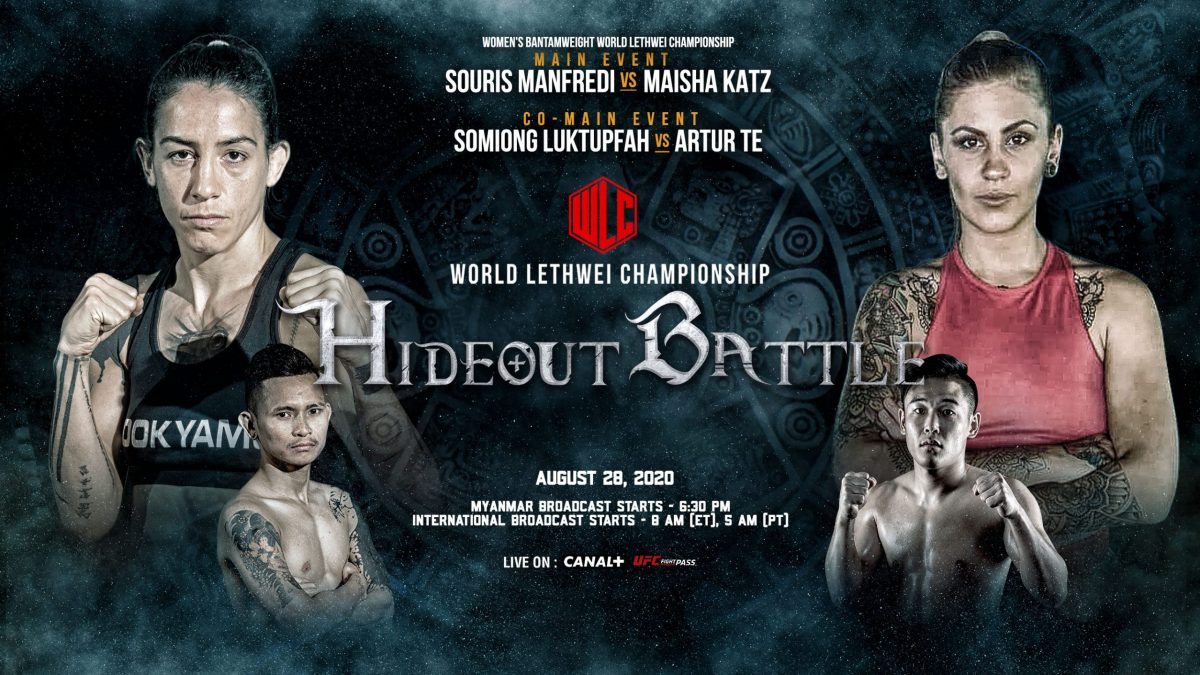 WLC releases full fight card for Hideout Battle event