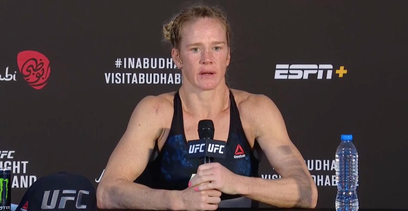 UFC on ESPN 16: Holly Holm piles up the points on Irene Aldana