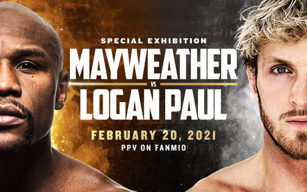 Floyd Mayweather Jr. and Logan Paul confirm exhibition boxing bout in February 2021