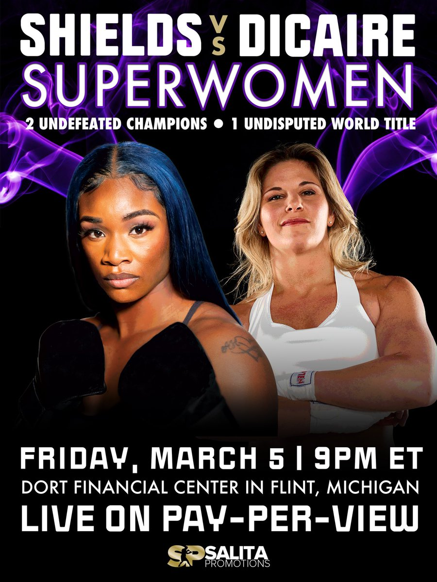 Superwomen: Clarissa Shields to face IBF light middleweight champ Marie-Eve Dicaire for undisputed