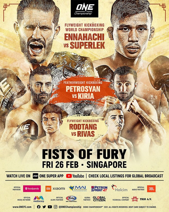 ONE: Fists of Fury
