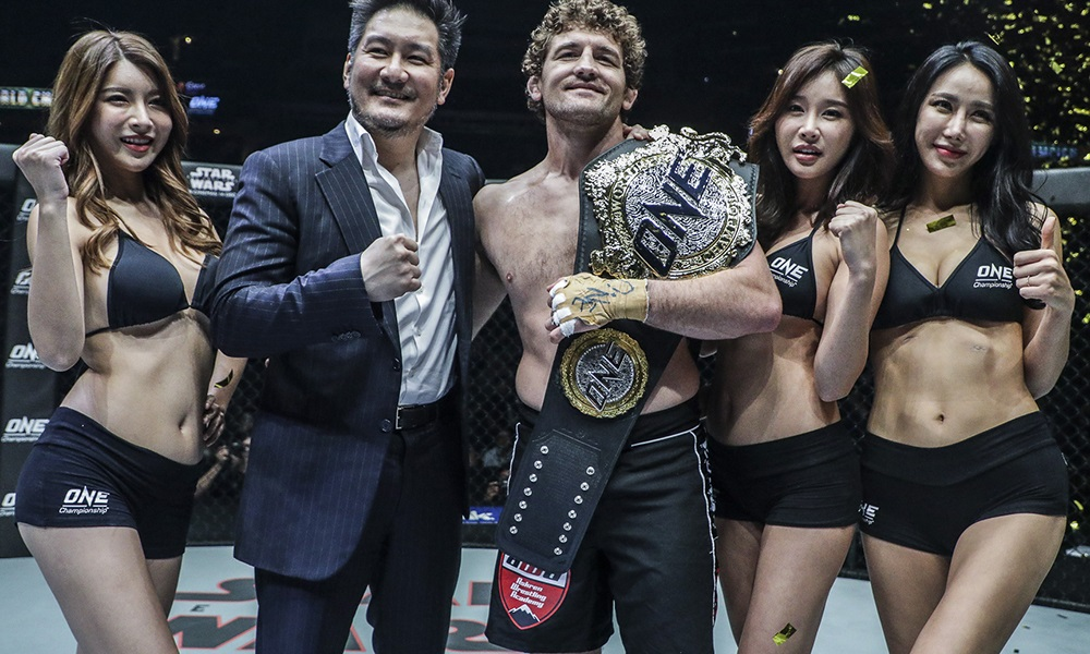 ONE Championship: Immortal Pursuit Results – Ben Askren Stops Shinya Aoki, Retires Undefeated. Amir Khan Grinds Adrian Pang for a Dominating Win -