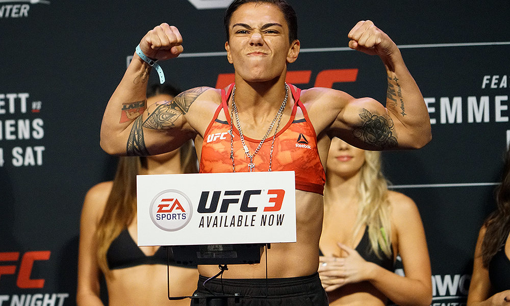 UFC: Jessica Andrade talks about her roots and discusses Rose Namajunas vs. Joanna Jedrzejczyk rematch - Jessica Andrade