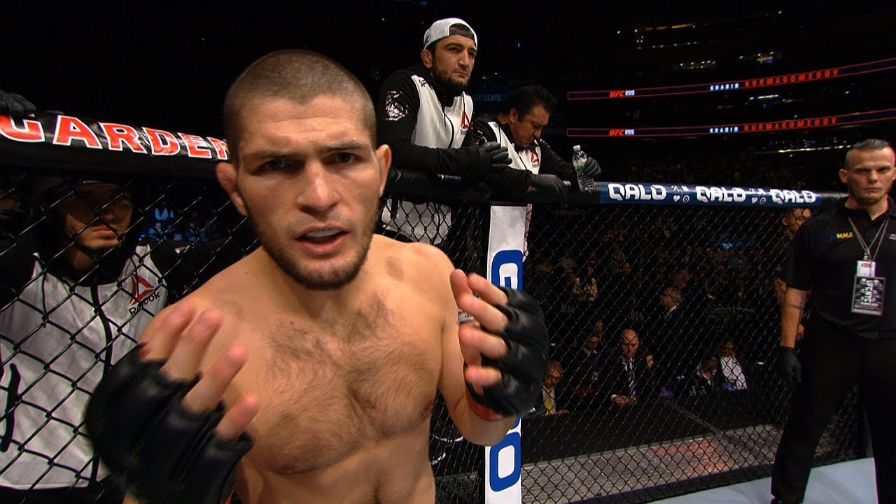 Khabib Nurmagomedov believes Conor McGregor will never compete in the UFC again -
