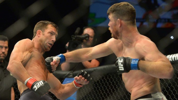 UFC: Luke Rockhold and Michael Bisping take digs at each other - Luke Rockhold