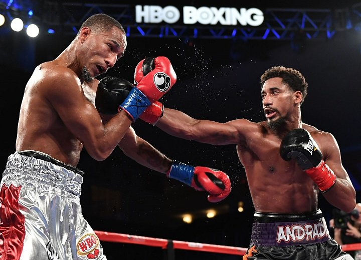 Boxing: Demetrius Andrade ready to step up to fight GGG - Golovkin