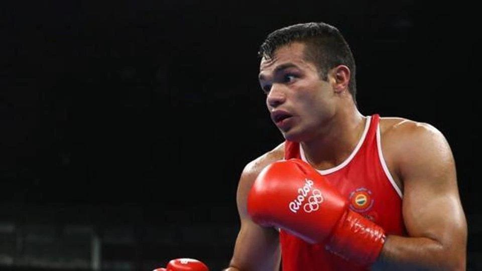 Boxing: Vikas Krishnan advances to Semi finals of commonwealth Games 2018 - Vikas