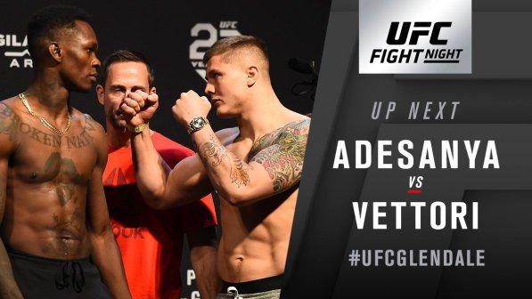 UFC on Fox 29 Results: Israel Adesanya Defeated Marvin Vettori via split decision -