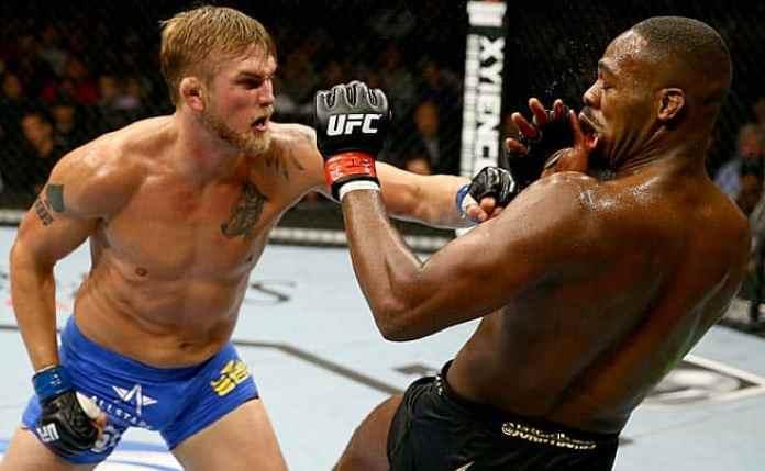 UFC: Alexander Gustafsson claims it's a bigger deal to defeat Jon Jones than to win a UFC title - Alexander Gustafsson