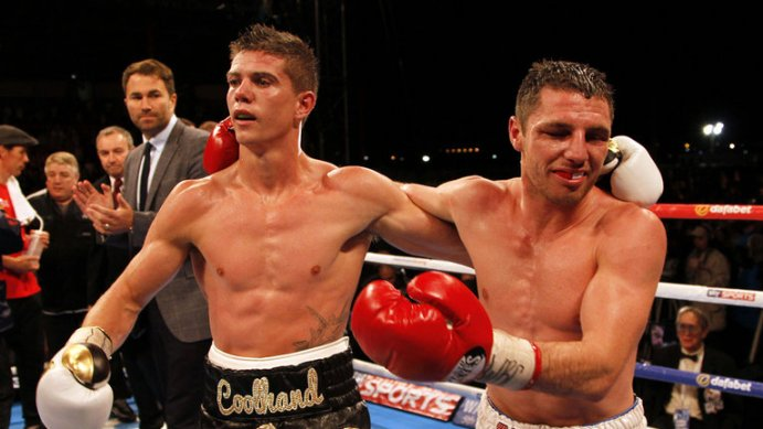 Boxing: Tommy Coyle becomes commonwealth Champion - Coyle