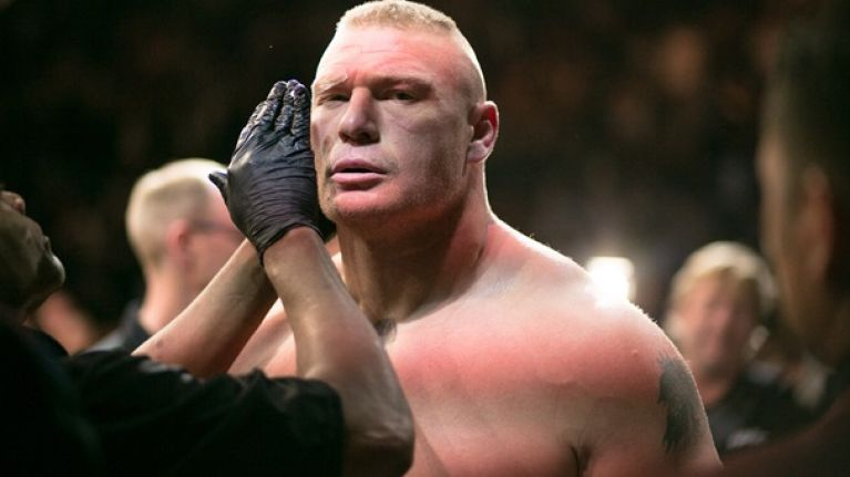 UFC: Dana White says that Brock Lesnar could fight for the title when he returns - UFc