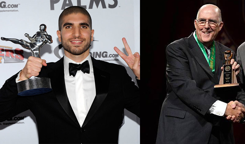 MMA: Ariel Helwani & Kevin Iole accused of cultural bias in MMA coverage by co-founder of UFC - combate helwani iole