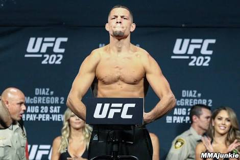 UFC: Nate Diaz responds to rumours of UFC 227 fight against Georges St-Pierre, claims GSP was on steroids before he fought his brother Nick Diaz - Nate Diaz