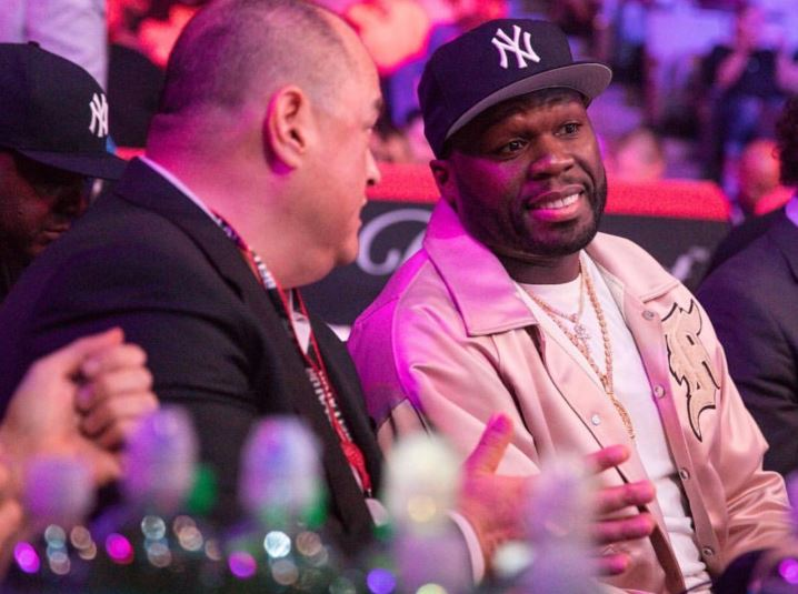 Bellator: 50 Cent sells catchphrase 'get the strap' to Bellator for 1$ million - 50 cent