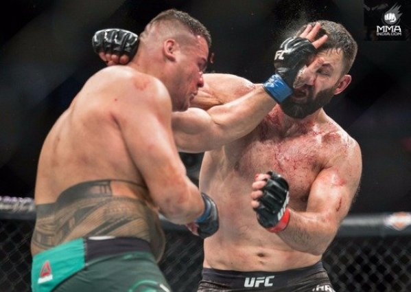 UFC 225 Whittaker vs. Romero 2 Results - Tuivasa Stays Undefeated, Goes Three Rounds for the First Time -