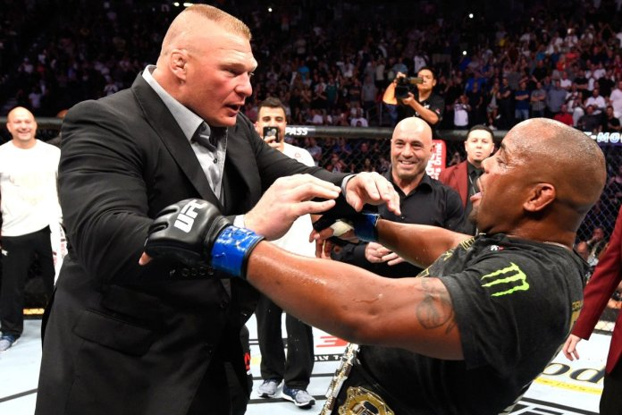DC may not fight Brock Lesnar as his final fight after all; itching for the Jon Jones trilogy fight - Cormier
