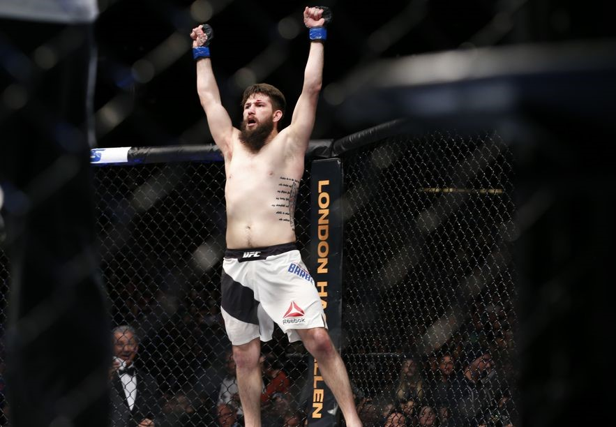 UFC Fight Night 135 Results - Barberena Retires Ellenberger with a TKO Finish -