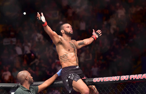 UFC: Thiago Santos claims Jimi Manuwa turned down his offer to fight him in UFC Sao Paulo main event - Thiago Santos