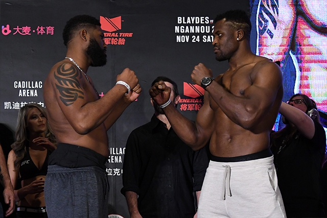 UFC Fight Night 141: Curtis Blaydes vs. Francis Ngannou - Play by Play Updates & LIVE Results - zawada