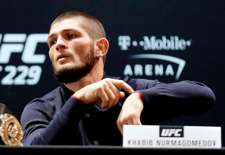 Khabib wishes team captain DC best of luck for UFC 230 - khabib