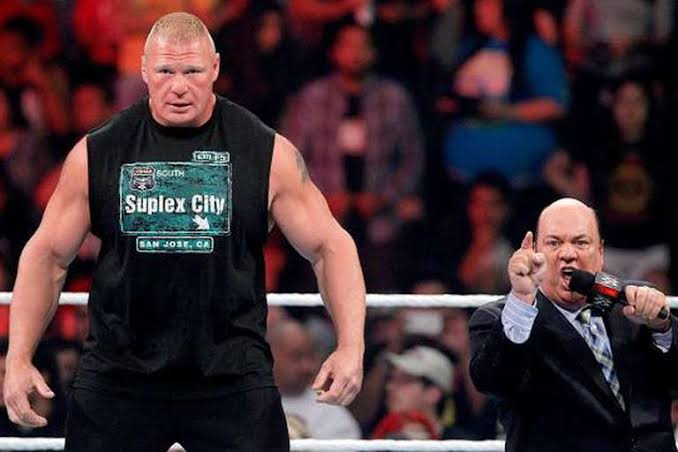 Paycheck is the only thing standing between Brock and DC's super fight..... says Paul Heyman -