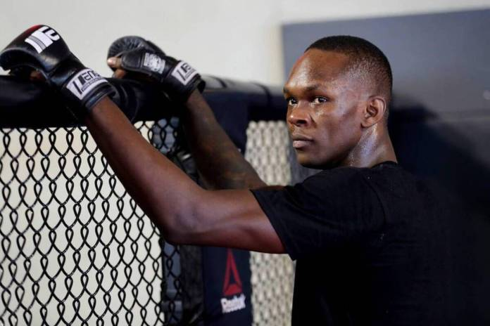 What Israel Adesanya told Derek Brunson when they faced off (Video) - Israel Adesanya