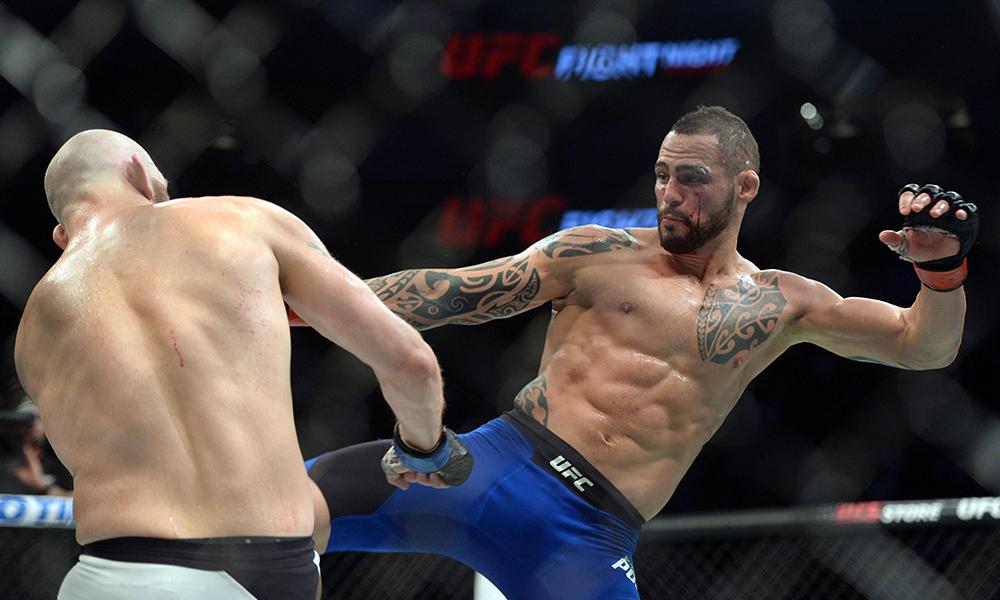 Santiago Ponzinibbio given 'Key to the City' after fantastic win at UFC Argentina - Santiago Ponzinibbio