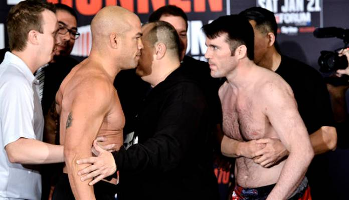 Tito Ortiz planning a rematch with Chael Sonnen in Bellator - Tito
