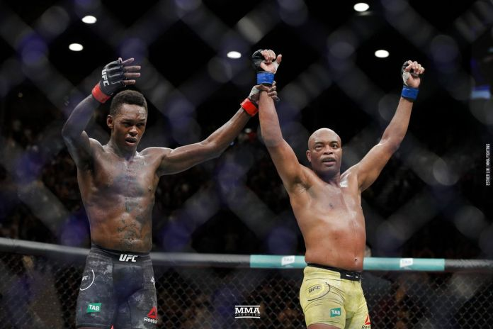 Watch: What was said by Israel Adesanya and Anderson Silva to each other after their UFC 234 fight -