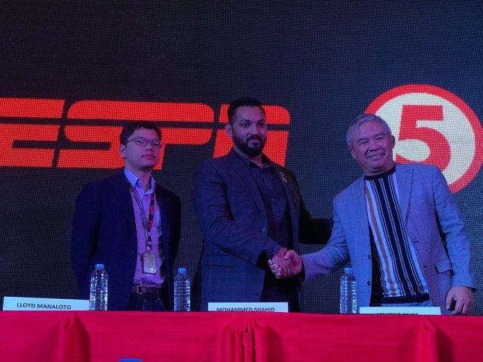 'Brave partnership will help promote Filipino warriors', says TV5 president -