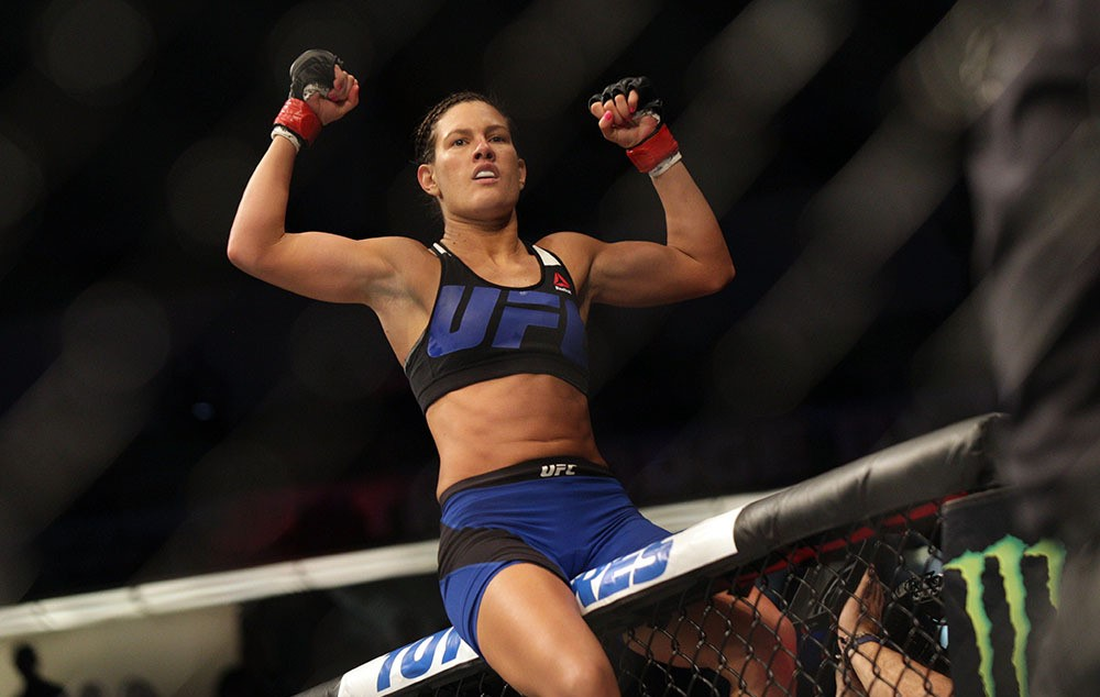 Courtney Casey wants Cynthia Calvillo to emulate the Diaz brother attitude in their fight) -
