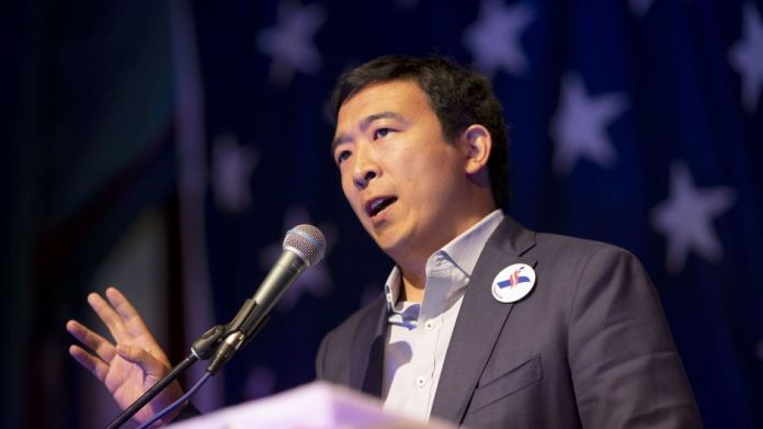 Potential U.S presidential candidate Andrew Yang takes a controversial shot at the UFC; hammers the promotion's payroll -