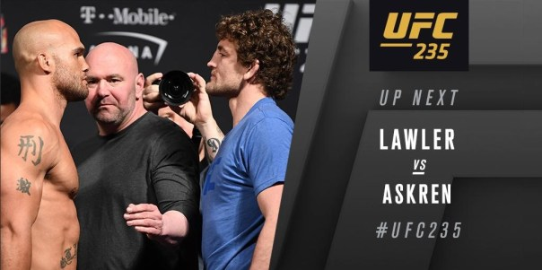 UFC 235 Results: Ben Askren Wins his UFC Debut with a Questionable Stoppage -
