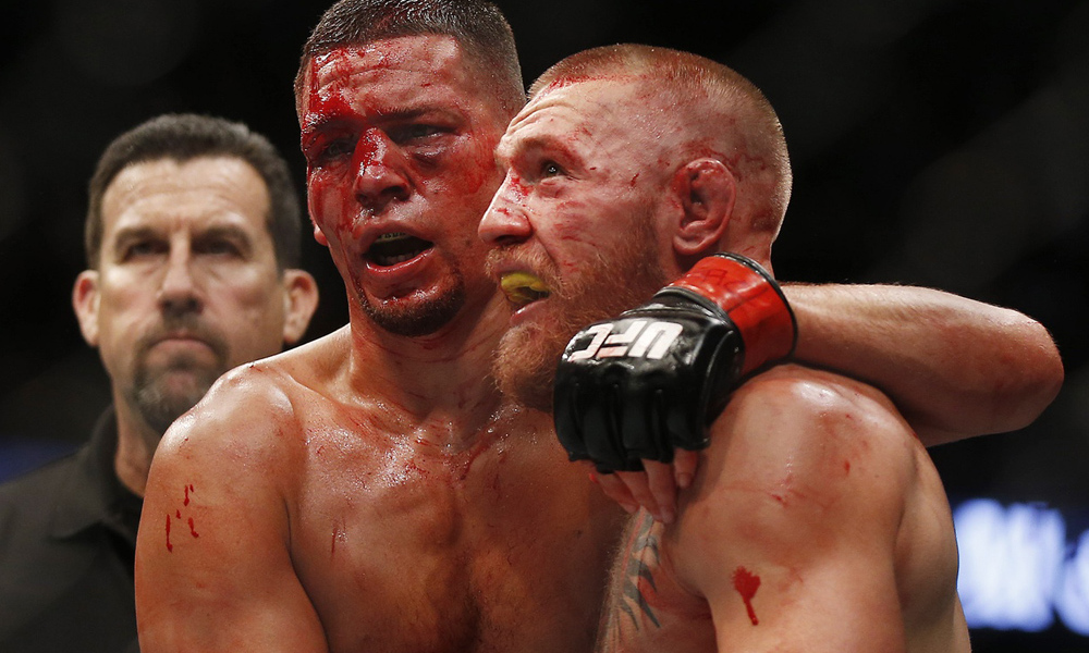 Ariel Helwani feels that Cowboy vs Raging Al means that Conor vs Nate 3 is coming up - Nate