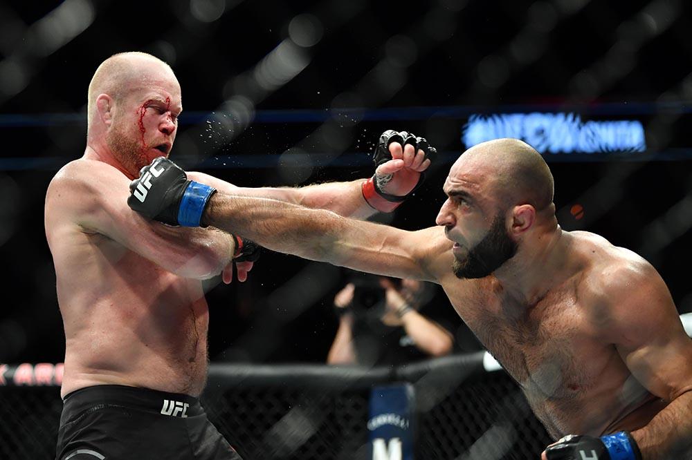 UFC Fight Night 146 Results - Omari Akhmedov Outworks Tim Boetsch in a Three Round Standup Fight -