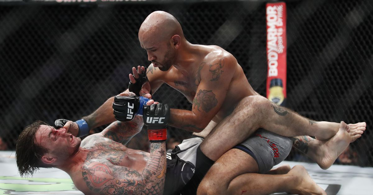 CM Punk slayer Mike Jackson ready for tougher run in the UFC - Jackson