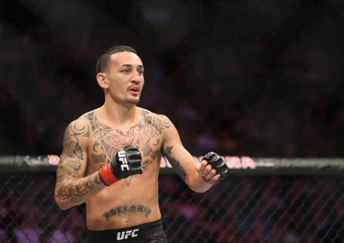 UFC tweets out a slick edit of Max Holloway sitting on the Iron Throne -