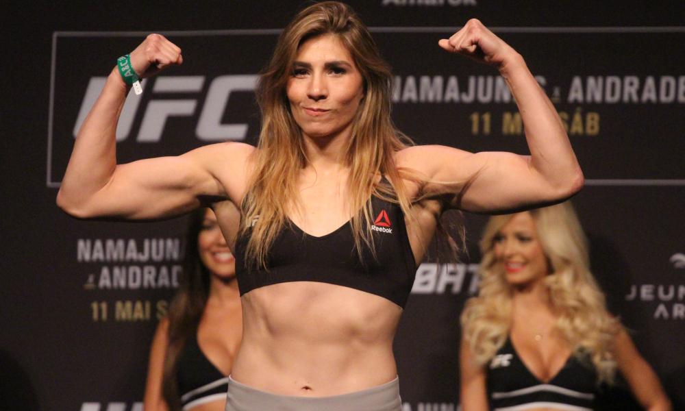 UFC 237 Results - Irene Aldana Submits Bethe Correia in the Third Round -