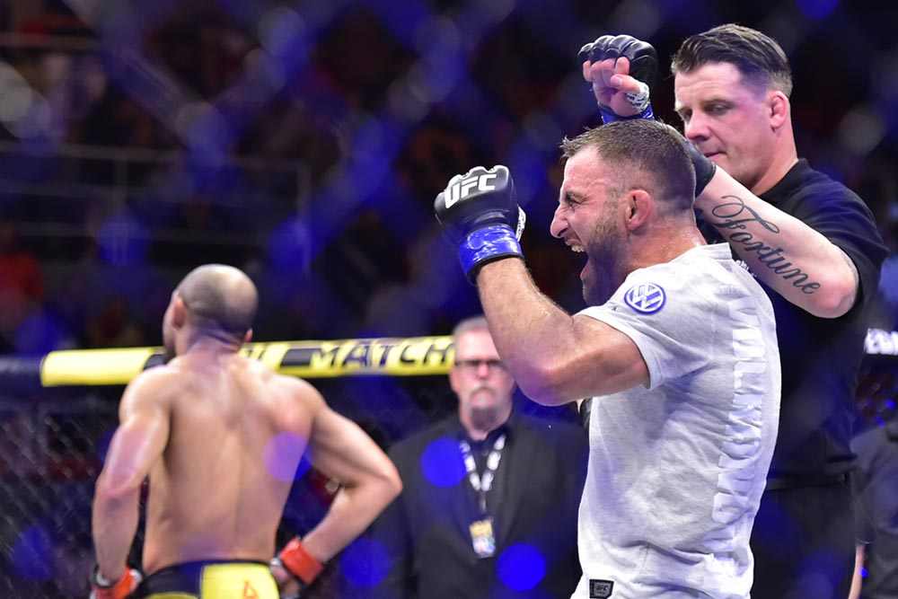 Alex Volkanovski: I gave Jose Aldo too much to think about -