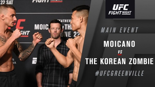 UFC Fight Night 154 Results - Chan Sung Jung Starches Renato Carneiro in 58 Secs of First Round -