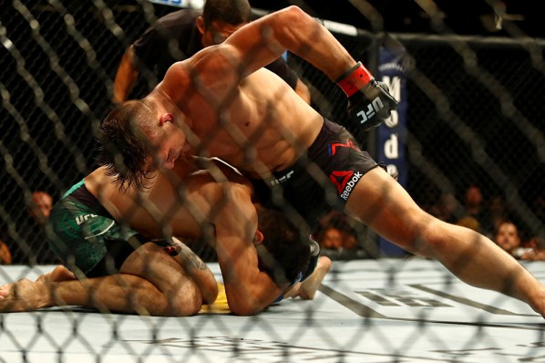UFC on ESPN 3 Results - Drew Dober Gets a Highlight Reel Knockout Win Over Marco Polo Reyes in Round 1 -