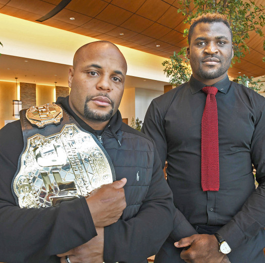 Daniel Cormier says he wouldn't hesitate taking Francis Ngannou fight - Cormier