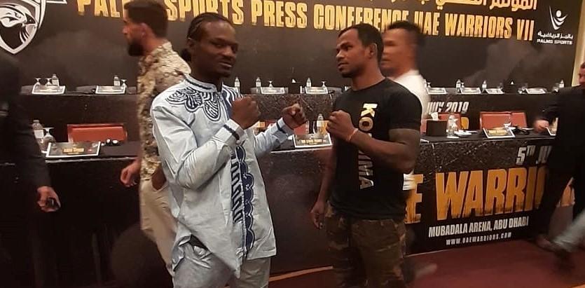 Kantharaj Agasa is set to take on Cameroon's Jaures Dea at UAE Warriors Abu Dhabi - Kantharaj Agasa