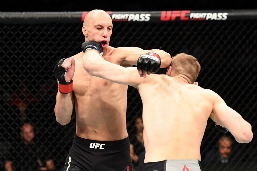 UFC on ESPN 4 Results - Dan Hooker Flatten's James Vick with a Slick Knockout in Round 1 -
