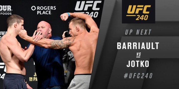 UFC 240 Holloway vs. Edgar - Play by Play Updates & LIVE Results -