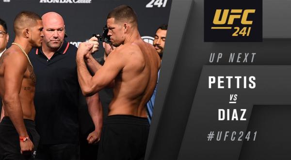 UFC 241 Results - Nate Diaz is Back. Grinds Anthony Pettis for Three Rounds to Win a Unanimous Decision -