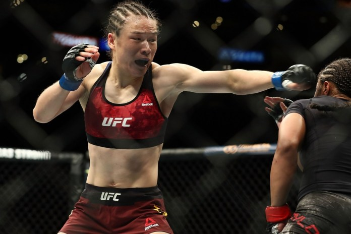 Jessica Andrade says Weili Zhang is a tougher opponent than Rose Namajunas - Andrade