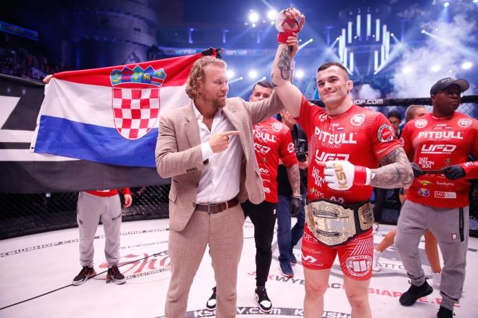 Roberto Soldic to defend title against Patrik Kincl at KSW 50 -